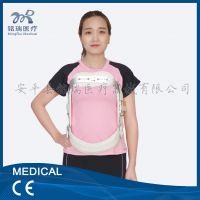 过身支具新款可调式脊椎过身固定矫形器材 骨软骨折脊背后凸术后康复适用 铭瑞
