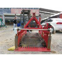 四轮拖拉机带动土豆红薯收获机 优质土豆杀秧收获机械 润众