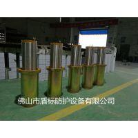 盾标防护生产NGM-SJ168半自动升降柱,304不锈钢防撞升降柱,隔离路障伸缩地柱