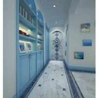 质感生活丨大品牌瓷砖给你的点蓝色看看!