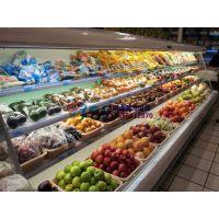 中山水果店保鲜柜,蔬菜水果冷藏风幕柜,砂锅麻辣烫自选徽点厂家