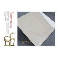 800x800金刚大理石 客厅卧室地板砖 阿曼米黄瓷砖 釉面砖