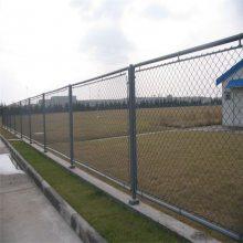 篮球场用勾花网 斜方网锚网 马路绿化围栏