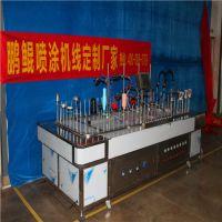 深圳硅胶喷涂机 鹏鲲厂35款百多台现机可定制 来样免费试喷硅胶喷涂机