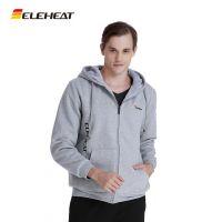 厂家批发加热服保暖外套夹克男款休闲运动卫衣智能服饰发热服