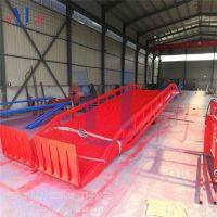 商洛物流站用10吨移动叉车装卸货过车桥,集装箱装卸平台现货供应
