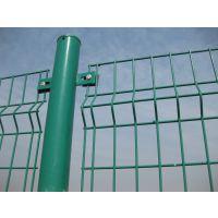 厂家供应桃型柱护栏网/农场框架围栏/三角折弯护栏