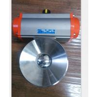 上海沪宣 Q681W-10P DN50 气动釜底阀 不锈钢气动罐底阀