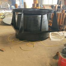 自产自销DN250PN1.6碳钢吸水喇叭口支架 02S403标准吸水喇叭管