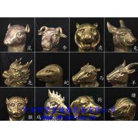 圆明园十二生肖兽首 兽首摆件鼠牛虎兔龙蛇马陶瓷工艺品摆件