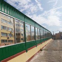 江苏百叶孔岩棉声屏障生产厂家 冷却塔降噪隔音墙
