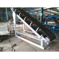 工作量大装卸皮带输送机 工艺操作大型不同带宽皮带上料机