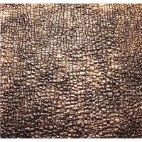 17皮革新品碎石纹烫金PU 重金属质感人造革 环保箱包鞋材面料厂家