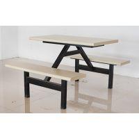 厂家直营全新钢木餐桌椅