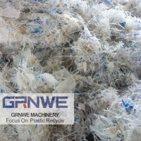 废旧LDPE塑料薄膜撕碎清洗回收清洗线
