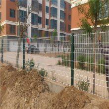 南阳三角折弯护栏网 绿化带隔离网 小区外墙防护网