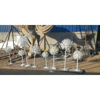 蒲公英雕塑植物景观不锈钢雕塑厂家批发