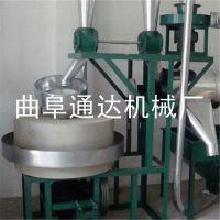 运城市 小麦杂粮石磨面粉加工设备 全自动商用石磨机 多种规格面粉机 通达牌