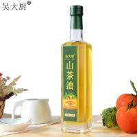 吴大厨山茶油500ml野生茶籽油食用油月子油聪明油