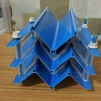 逆流塔通常用哪种PVC收水器防飘水效果好多波M波S波【华强】