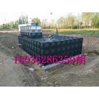 地埋水箱 热镀锌钢板水箱 BDF地埋式箱泵一体化水箱 润平定制