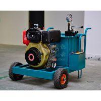 安能钻凿AN-PL80C手持式液压劈裂机柴动型1拖10劈裂机