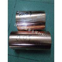 超宽紫铜带纯铜卷 半硬冲压T2紫铜带紫铜块 诚泰红铜带0.8mm