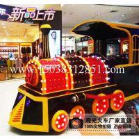 厂家分析景区观光火车观光无轨小火车有哪些特色呢?------三川游乐设备