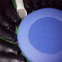 大批量生产海绵蛋白皮耳机罩 可长期出售皮革印花皮耳套