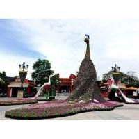 城市广场大型植物花卉绿雕动物景观雕塑东莞绿雕厂家专业制作