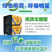 四川菜馆油烟净化 宝蓝环保安装玖六年川菜馆排烟净化工程