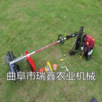背负式除草机价格 汽油茶园松土除草机 热销便携式锄地机