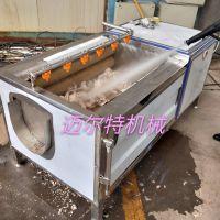 迈尔特加工定制不锈钢毛辊清洗机