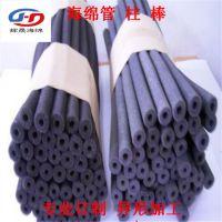 专业订做网孔过滤海绵柱子 清洗空心海绵棒线切割加工