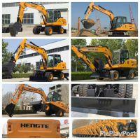 恒特挖掘机——HT125W轮式挖掘机
