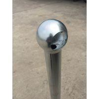 供应66/76球接栏杆 球接立柱 热镀锌栏杆 护栏(见图)
