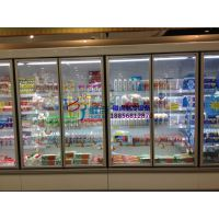 玻璃门冷藏风幕柜,徽点定做生鲜冷柜,马鞍山内机/外机立风柜价格