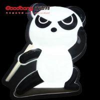 功夫熊猫招牌灯箱 亚克力吸塑灯箱 户外led立式灯箱制作厂家