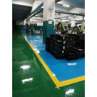 防静电地坪漆施工厂家 豫信地坪承接地面工程 光洁亮丽 又使用