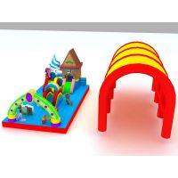 给孩子玩的充气蹦床价格 充气蹦床玩具占地面积怎么算的 儿童新款大气包玩具