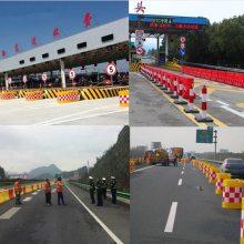 浙江高速公路集团专用滚塑水马防撞桶设施批发厂家
