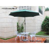 北京户外遮阳中柱手摇伞