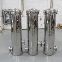 超滤前置保安精密过滤器159×250×3芯 食品级饮料用水设备 晨兴环保