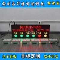 苏州永升源厂家生产定制电子叫料系统管理LED看板 无线呼叫状态警示灯 远距离操控缺料及时呼叫
