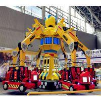 新颖游乐设备,变形金刚大型设备,旅游景区游乐设备厂家