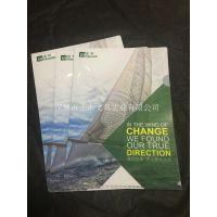 供应PP资料夹,文件夹,塑料磨砂文件夹 斜纹二页夹