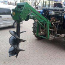 拖拉机挖坑机价格 植树钻眼机