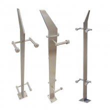 新云 不锈钢立柱厂家精品304工程立柱 旋转楼梯栏杆立柱支持来图加工定