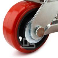 大世脚轮 耐油耐腐蚀叉车轮 多种轴承可选择
