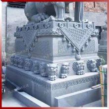南派石雕戏狮宫廷狮大型仿古石狮子雕塑